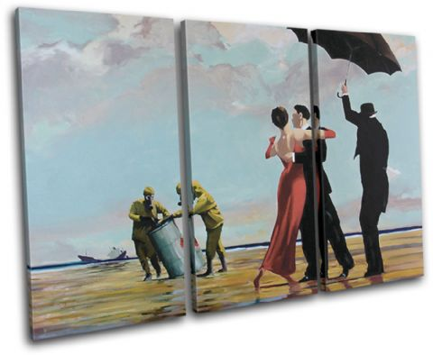 Crude Oil Banksy Painting - 13-1025(00B)-TR32-LO